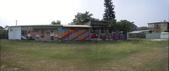 102.11.07 [台南彩繪] 警察新村:大成路一段旁的全景圖2