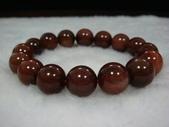 水晶手鍊:紅髮晶手珠/全美級