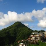 台北-白天:九份山城