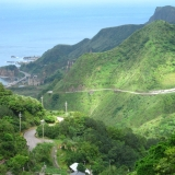 台北-白天:九份山景