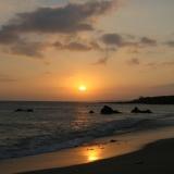 墾丁-晚上:南灣的橙月