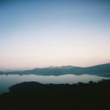 日月潭-晚上:日月潭晚霞景緻