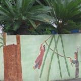台東-白天:太麻里「給拿布樂部落」彩繪牆