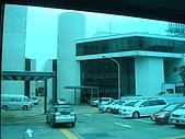 2009出發去東京DAY1:車窗看出去是藍藍的日本