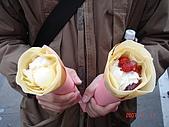 20070101東京3日目:我跟阿龍的可麗餅