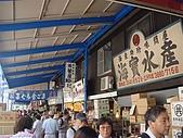 2009出發去東京DAY5:人很多的築地場外市場