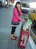 2009年9月~日本出差初體驗:大歐的行李裝滿了旅展的用具