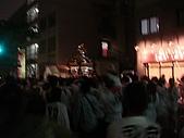 2009出發去東京DAY5:晚上回飯店剛好遇到神社祭的前夜祭