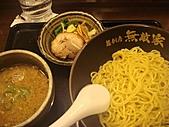 2010年10月 龜速行進的東京:姐姐點的沾麵~湯頭依然很重口味