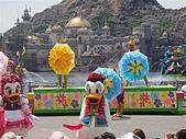 2009出發去東京DAY3:這是在迪士尼唯一看到的一場表演