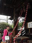 2009出發去東京DAY5:上面還有大鈴鐺喔