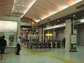 2009出發去東京DAY3:走了好大一段路才走到京葉線....