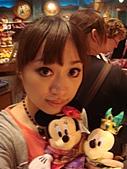 2009出發去東京DAY3:再來和米奇米妮拍照留念