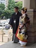 2009出發去東京DAY5:看到新娘新郎有失望了一下....