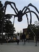 2009出發去東京DAY5:大蜘蛛是有名的地標