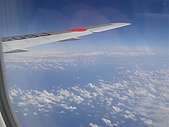 2009年9月~日本出差初體驗:這次位置很後面,好險不是在機翼旁邊