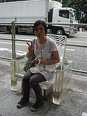 2009出發去東京DAY5:是下雨天會消失的椅子