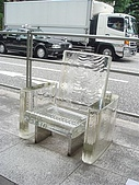2009出發去東京DAY5:不過我們並沒有特別去找其他的公共藝術品
