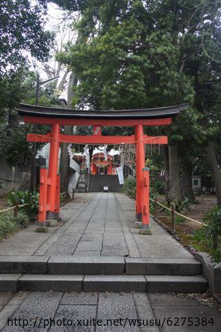 【2013東京賞花】 Day2:熊野神社鳥居