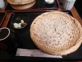 """【2013東京賞花】 Day2:陳奐的有點高級蕎麥麵,但外行人我們看不出那裏不同>""""<"""