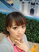 2009出發去東京DAY3:我想跟後方的城堡合照