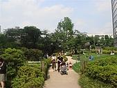 2009出發去東京DAY5:應該是毛利庭園吧