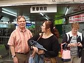 2009出發去東京DAY2:月台有分上車和下車是不同邊