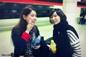 【2013東京賞花】Day1:我們要坐的NEX來了,趕快拍一張