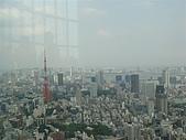 2009出發去東京DAY5:東京鐵塔不論白天晚上都很漂亮