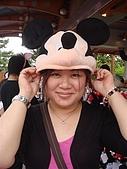2009出發去東京DAY3:姐姐難得願意做示範