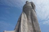 金門:高九公尺的延平郡王雕像.JPG