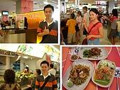 曼谷2006:Platinum mall 的美食街