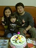 陳帝允與婷雅幫:2008.03.07我今年兩歲了喔!