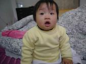 陳帝允的登大人記錄(2007-1歲):不知道是在驚什麼......