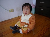 陳帝允的登大人記錄(2007-1歲):超圓的臉