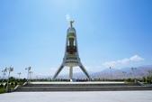 108 土庫曼 阿什哈巴德:阿什哈巴達 中立紀念碑
