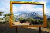 南非 開普頓:1 南非 桌山畫框