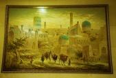 108 烏茲別克 塔什干:飯店掛畫