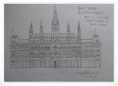 旅行 手繪:奧地利 維也納 市政廳.JPG