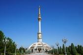 108 土庫曼 阿什哈巴德:阿什哈巴達 獨立紀念碑
