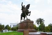 108 烏茲別克 塔什干:塔什干 鐵木兒雕像