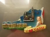旅行 磁鐵:奧地利