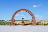 108 土庫曼 阿什哈巴德:阿什哈巴德 人民紀念廣場